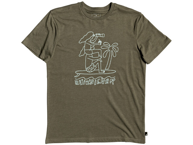 Quiksilver Turning Heads T-shirt Homme, kalamata